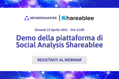 demo della piattaforma di Social Analysis Shareablee